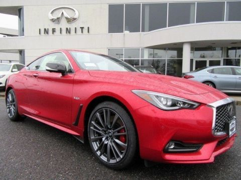 New 2017 INFINITI Q60 Red Sport 400 AWD