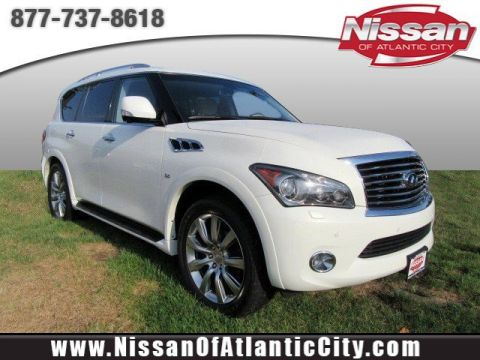 Pre-Owned 2014 INFINITI QX80 4DR 4WD AWD